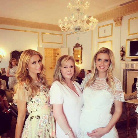 Paris Hilton, Kathy Hilton and Nicky Hilton (from left).