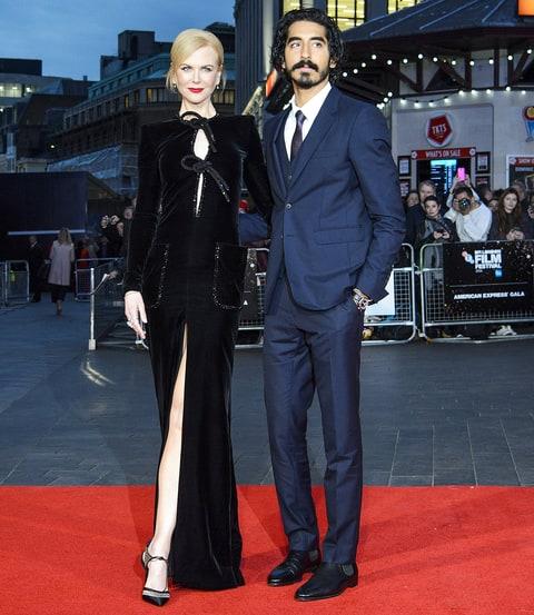 Nicole Kidman Dev Patel leg