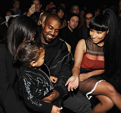 North West and Nicki Minaj