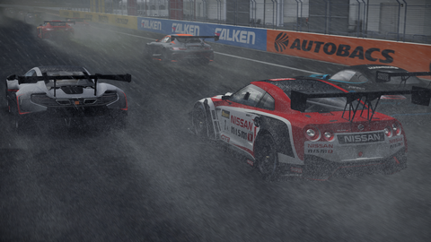 Wet races prove a challenge in terms of both handling and visibility