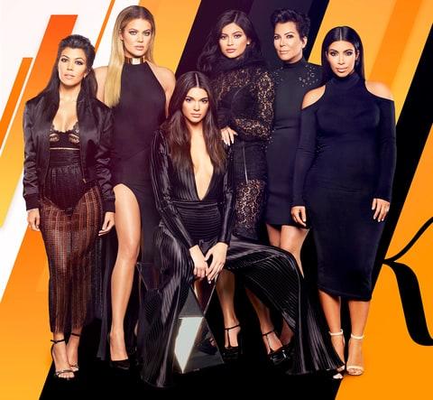 Kourtney Kardashian, Khloe Kardashian, Kendall Jenner, Kylie Jenner, Kris Jenner and Kim Kardashian