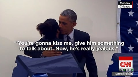 President Obama CNN girlfriend
