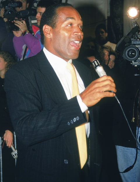 O.J. Simpson Attended Donald Trump's 1993 Wedding: Watch ...