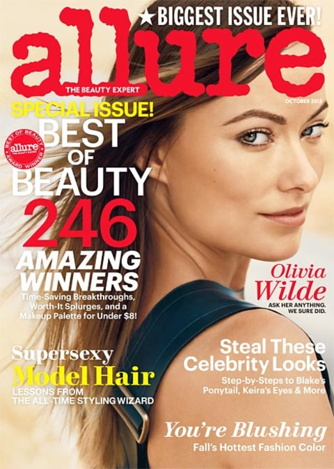 olivia wilde allure cover