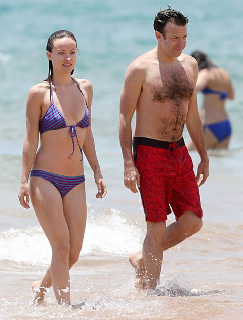 olivia wilde and jason on vacation