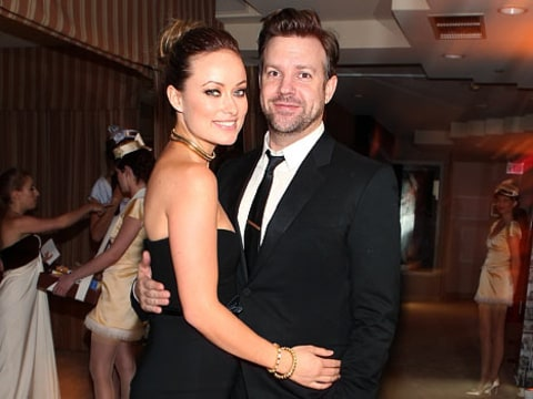 Olivia Wilde and Jason