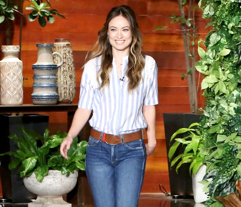 Olivia Wilde on The Ellen DeGeneres Show.