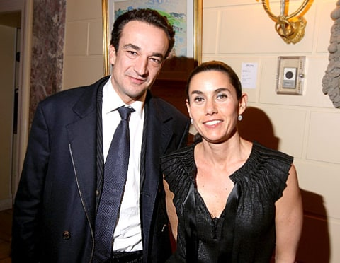 Olivier and Charlotte Sarkozy