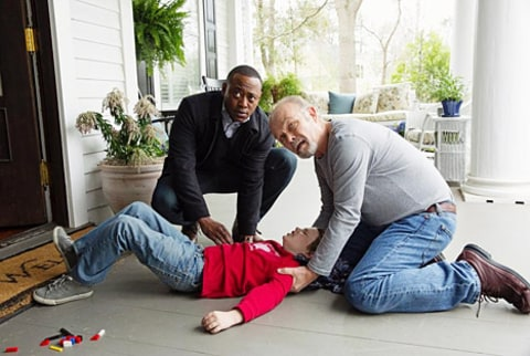 omar epps on Resurrection