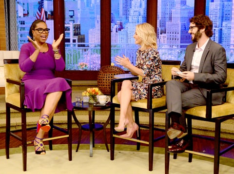 Oprah Winfrey, Kelly Ripa and Josh Groban