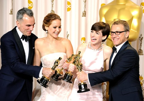 jlaw and oscar winners