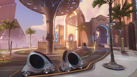 Oasis Map Overwatch