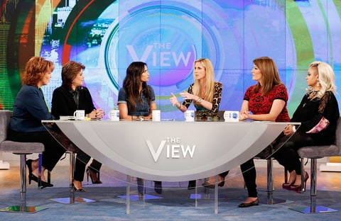Padma Lakshmi and Ann Coulter on The View