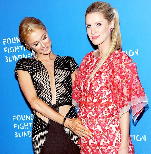 Paris Hilton and Nicky Hilton Rothschild attend the 2016 Foundation Fighting Blindness World Gala at Cipriani Downtown on April 12, 2016 in New York City.
