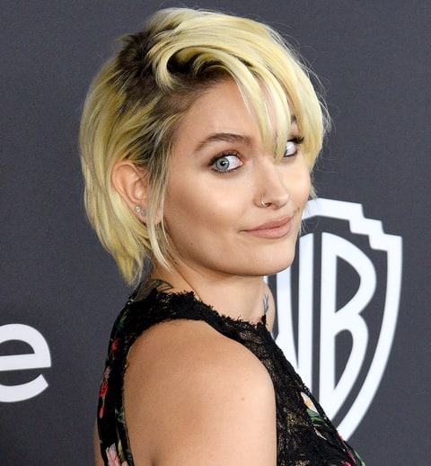 Paris Jackson arrives at the 18th Annual Post-Golden Globes Party hosted by Warner Bros. Pictures and InStyle at The Beverly Hilton Hotel on January 8, 2017 in Beverly Hills, California.
