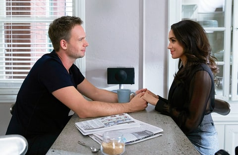 patrick j adams and meghan markle dating - photo #13