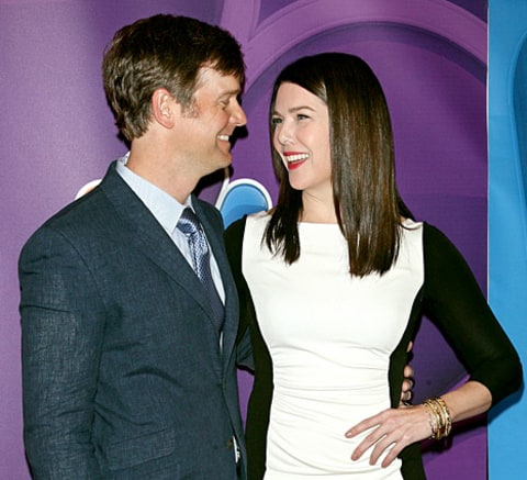 Lauren Graham and Peter Krause