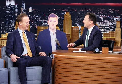 Peyton Manning on 'The Tonight Show with Jimmy Fallon'