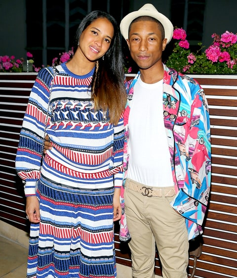 Pharrell Williams Wife Helen Lasichanh Expecting Second