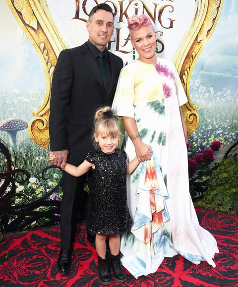 Carey Hart, Willow Hart and Pink