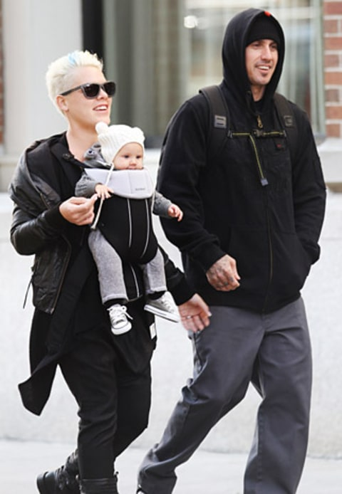 Pink, Willow, Carey Hart