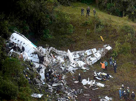 Plane Carrying Brazilian Soccer Team Crashes in Colombia, More Than 70 Dead