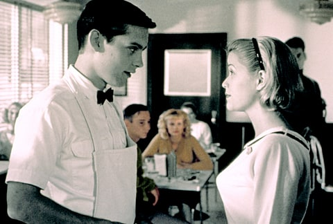 Tobey Maguire and Reese Witherspoon in 1998's Pleasantville