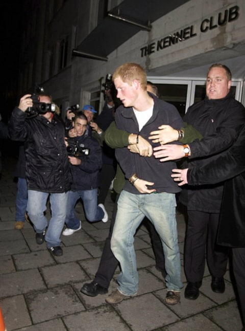 prince harry nightclub scuffle