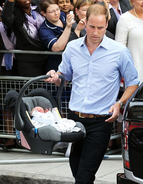 prince william with carrier