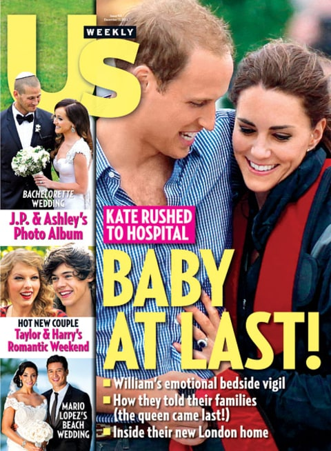 Will and Kate Baby Cover