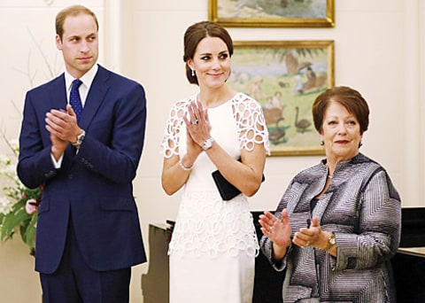 prince william and kate middleton and lady cosgrove
