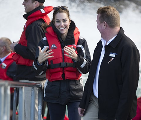 Royal Tour: Jet Boat