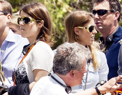 princess eugenie and beatrice graceland