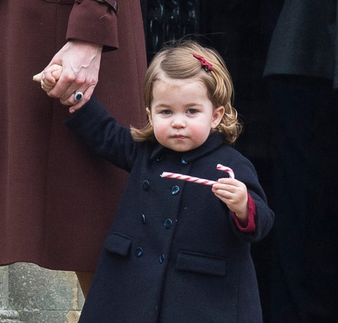 Prince George and Princess Charlotte join the Middleton family for Christmas