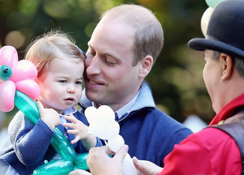 Princess Charlotte Prince William