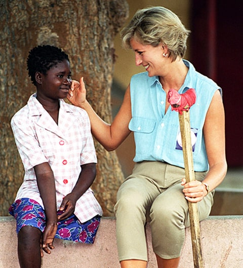 prince harry says princess diana inspired his love for