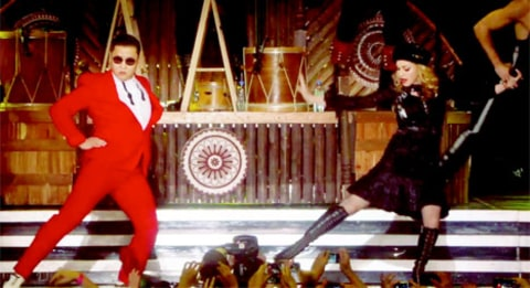 psy and madonna