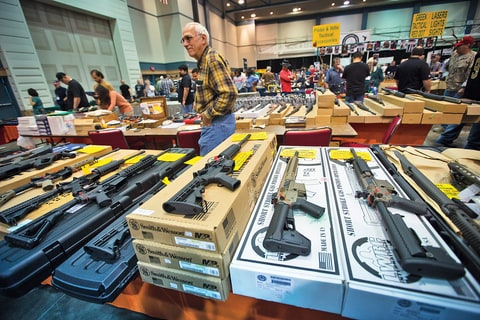 There are over 8.5 million civilian assault rifles in the U.S. market, a $1.4 billion-per-year business.