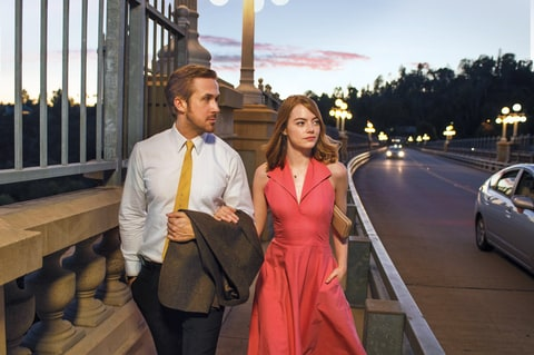 Stone is getting Oscar buzz for La La Land, starring alongside Ryan Gosling.