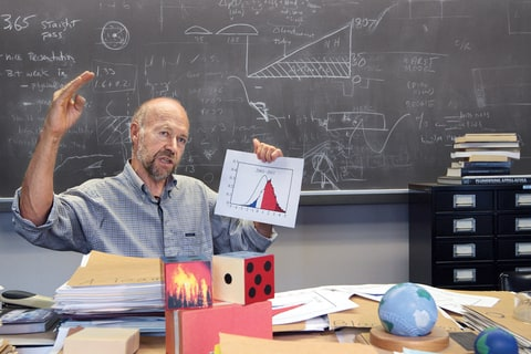 Hansen devoted his career at NASA to researching climate change.