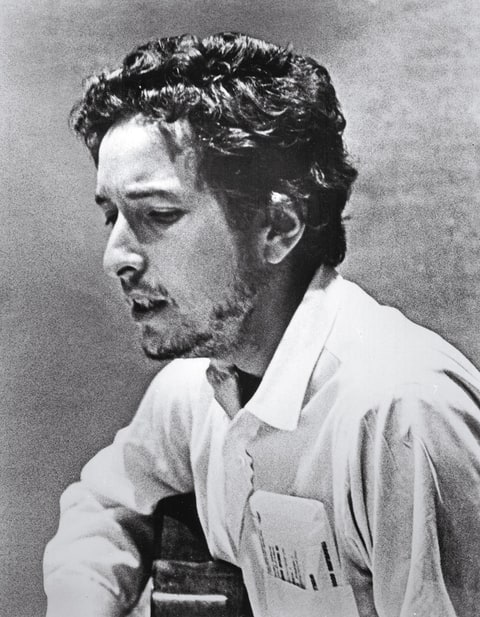 Dylan Recording 'Self Portrait' in May 1969.