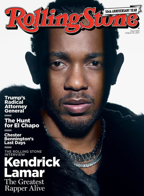 kendrick lamar the humble king rolling stone cover