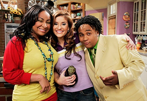 raven symone and Anneliese van der Pol on that's so raven