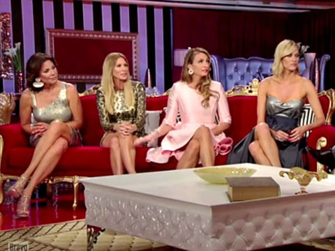 Real Housewives of NYC reunion