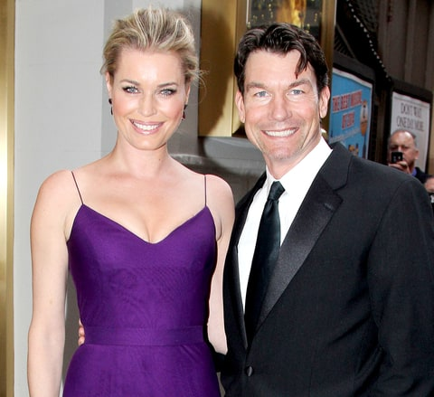 Rebecca Romijn and Jerry O'Connell attend The Opening Night for