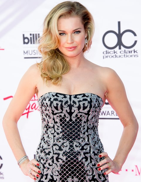 Rebecca Romijn arrives at the 2016 Billboard Music Awards.