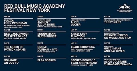 Werner Herzog, Solange, Gucci Mane Lead RBMA NYC 2017