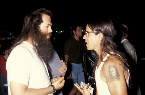Rick Rubin and Anthony Kiedis