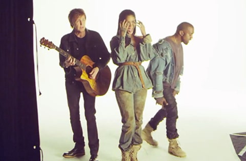 Rihanna Kanye West Paul McCartney BTS