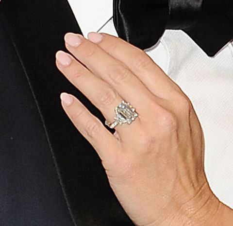 kym johnson shows off engagement ring talks proposal